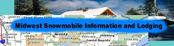 Midwest Snowmobile Information and Lodging